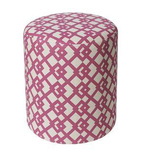 Jennifer Taylor Tracy pink ottoman
