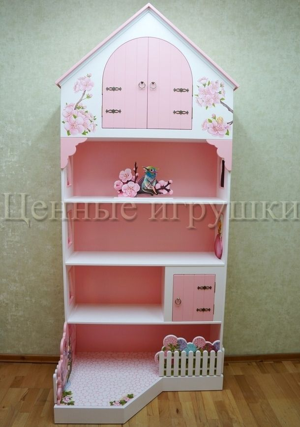 furniture for kids room, детская мебель, детский стеллаж с росписью. Феи, Fairy.
