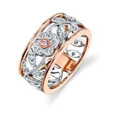 Image result for rose gold dress rings