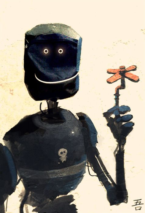 Goro Fujita, ahhh, sweet robot!