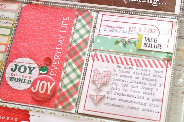 Love the embellishments! Mish Mash: Daily December Album