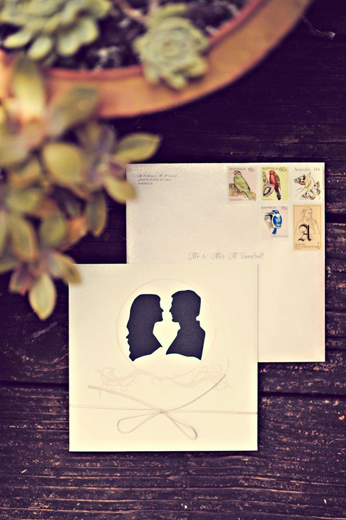 sihouette invitations | Tamiz Photography