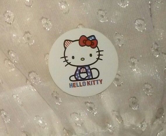 1-7/16in Hello Kitty Sticker PATRIOTIC red white blue american flag 4th of july FOR SALE • $1.10 • See Photos! Money Back Guarantee. Hello!! (^-^)/ 1-7/16in Hello Kitty Sticker. Ships to US. Please choose: First Class Mail--$Free. No tracking. Or First Class Package-- extra $2.61. With tracking If you have any questions please 172608159876