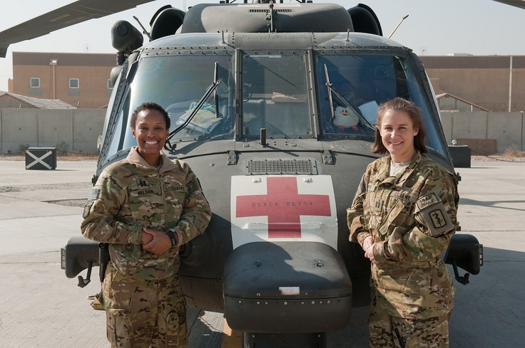 U S Army Captains Nicole Nelson And Julie Duffy In