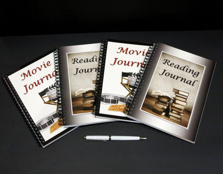 Movie Journal and Reading Journal - Set of 2, A5 & Wire Bound, Customised Journals for Movie and Book Reviews, Gift for Movie and Book Lover by JadoreBooks on Etsy https://www.etsy.com/listing/246771592/movie-journal-and-reading-journal-set-of