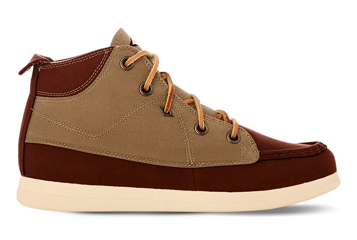 Umbro Spinningfield Mid Millerain Brown Canvas Shoes A