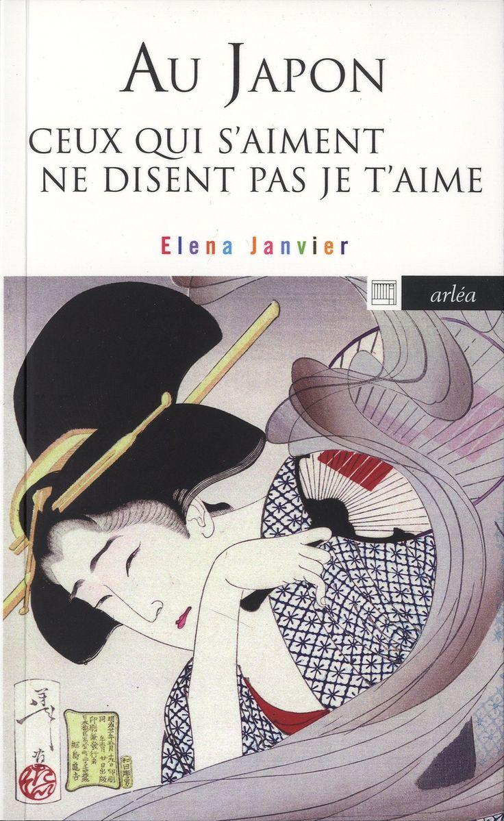 """Au Japon ceux qui s'aiment ne disent pas je t'aime - Elena Janvier http://petitlien.fr/7juu """"Au Japon, ceux qui s'aiment ne disent pas """" je t'aime """", mais """"il y a de l'amour"""", comme on dirait qu'il neige ou qu'il fait jour. Singulier aller-retour entre le Japon et la France, ce livre s'attache, sous forme d'abécédaire, à décrire avec légèreté les mille et une différences de nos civilisations"""""""