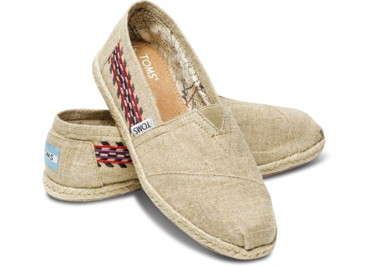 It s time for a new pair Embroidered Hemp Women s Classics hero