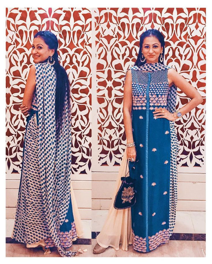 LehengaxSuit!  After the Lehenga-Sari we have the Lehenga-Suit by very talented quadruplet designers behind the label @madsamtinzin.  A pre stitched dupatta lehenga skirt and a straight shirt with exquisite work.  You go girls!  #indianweddinglook