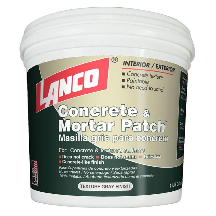 Lanco 4 lb concrete and mortar patch and repaircp2345