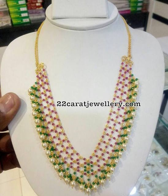 Colorful Latest Beads Sets and Pendants