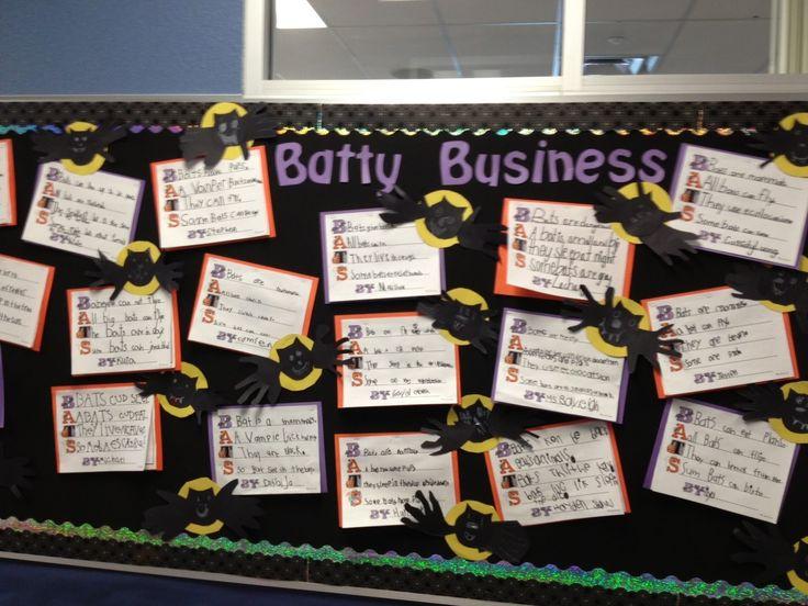 Classroom Enterprise Ideas : Best images about halloween bulletin board on pinterest