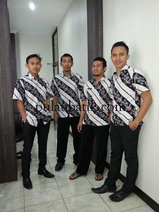 Toko baju batik online di solo jual aneka model seragam kantor harga murah terbaru