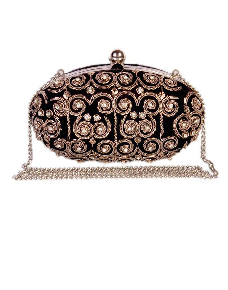 Black Silver Hard Case Clutch http://hotonlinedealsforbags.blogspot.in/ #Bags #fashion #fashionblogger  #style #beauty
