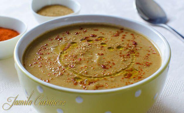 Supa de linte este si foarte sanatoasa, lintea este bogata in proteine vegetale care sunt benefice pentru organism si ofera satietate.