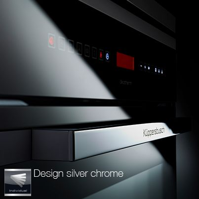 Design silver chrome