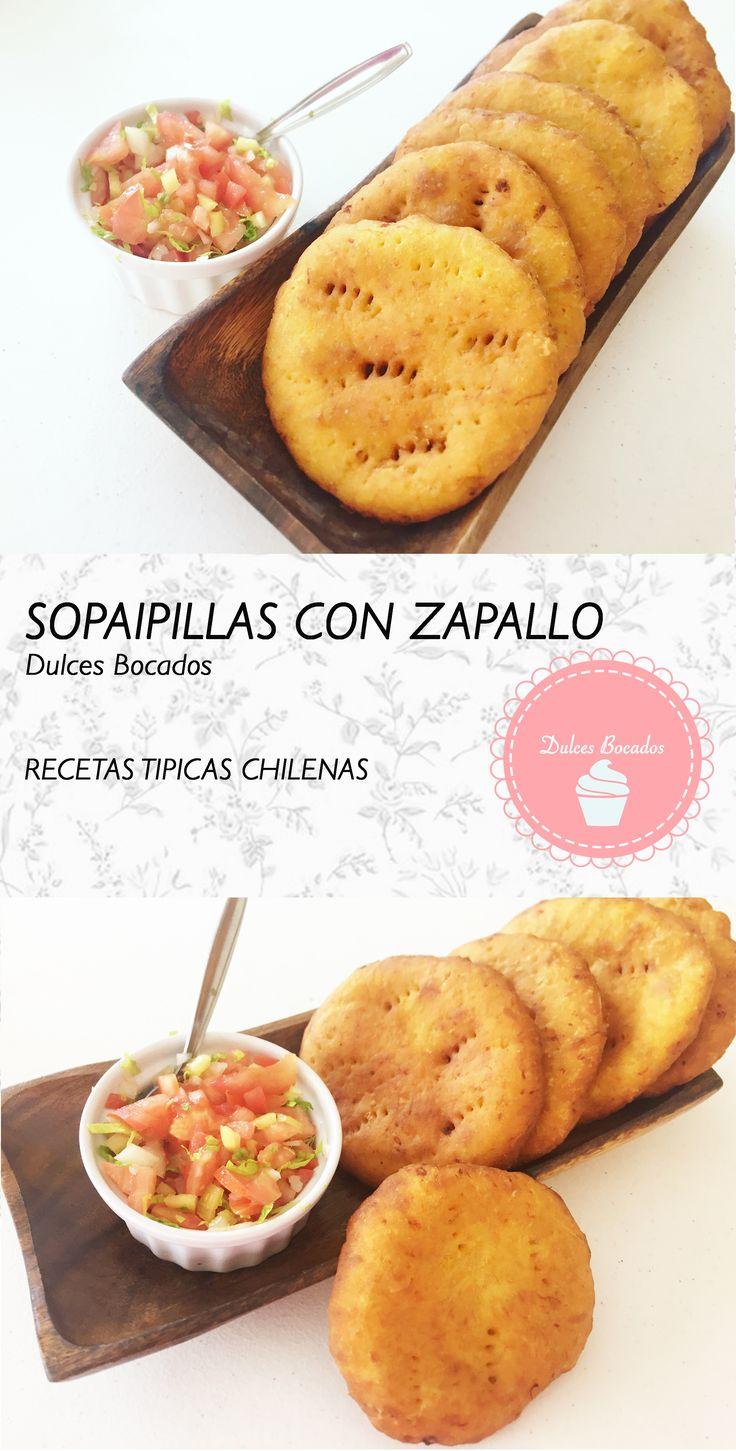 Sopaipillas chilenas con zapallo.  BY Karen Anacona