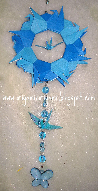 O QUE É MEU É NOSSO: Origami - Guirlanda de Tsurus (Cranes Wreath) - Mandala de…