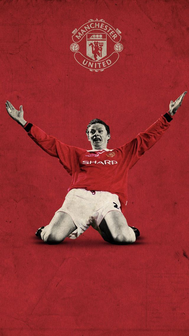 Ole Gunnar Solskjaer Of Man Utd Wallpaper Manchester