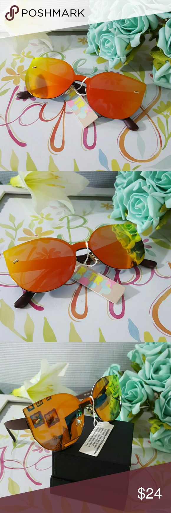 HIGH QUALITY CAT EYE MIRROR VINTAGE  SUNGLASSES Orange HIGH QUALITY CAT EYE MIRROR VINTAGE  SUNGLASSES Cat eye Women Sunglasses 2017 New Brand Design Mirror Flat  Vintage Cateye Fashion sun glasses lady Eyewear  58mm   ALSO AVAILABLE IN MY CLOSET. LATEX WAIST TRAINER NEOPRENE CONTROL CINCHER VEST CORSET BUTT LIFTER PADDED PANTY SWIMSUIT WOMAN MEN SUNGLASSES SILICONE BRA ADHESIVE NIPPLE COVERS PHONE Accessories Sunglasses