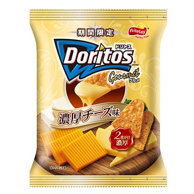 ドリトス・グルメ <濃厚チーズ味> - 食@新製品 - 『新製品』から食の今と明日を見る!