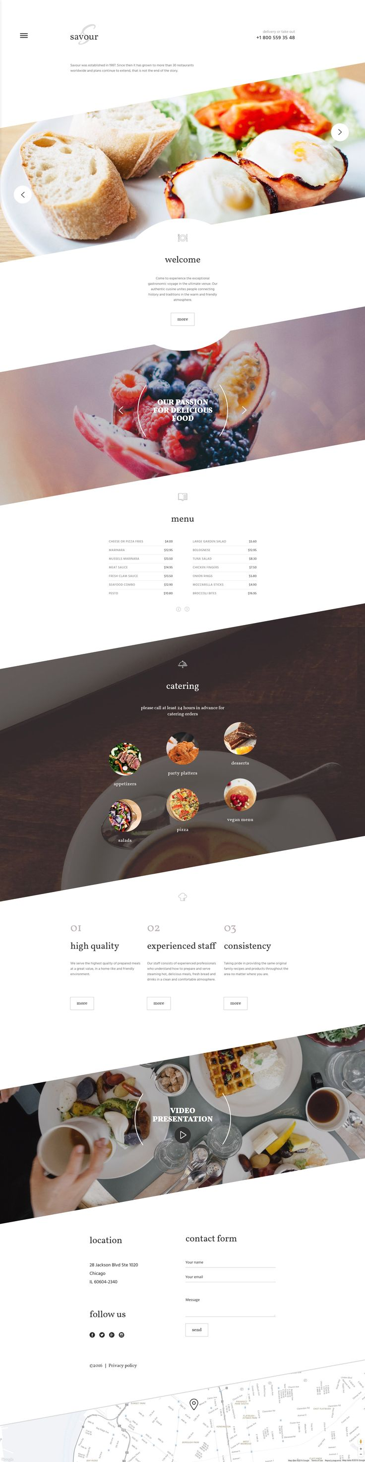 Cafe and Restaurant Responsive Website Template http://www.templatemonster.com/website-templates/cafe-and-restaurant-responsive-website-template-58833.html