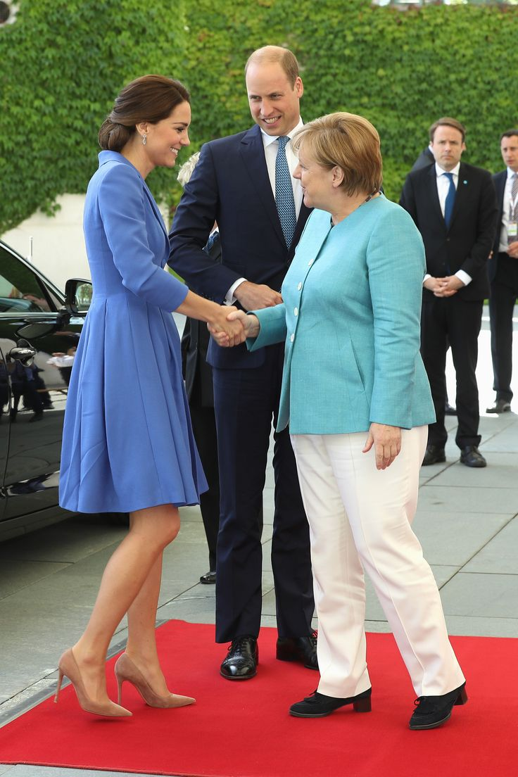 The royal tour of Poland and Germany in pictures