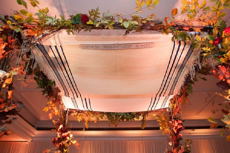 An autumnal Jewish wedding with a bride in a Melanie Potro dress at the Intercontinental on Park Lane, London