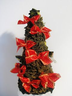 Ideas art for everyone, DIY - Joanna Wajdenfeld: Fluffy Fleece christmastree- without glue