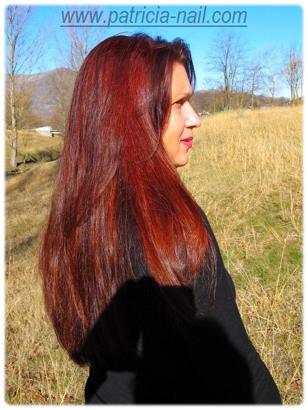 le mois au henn ralis pour rouge ralis cette anne coloration rouge janvier fvrier cheveux au henn hair - Henn Coloration Cheveux