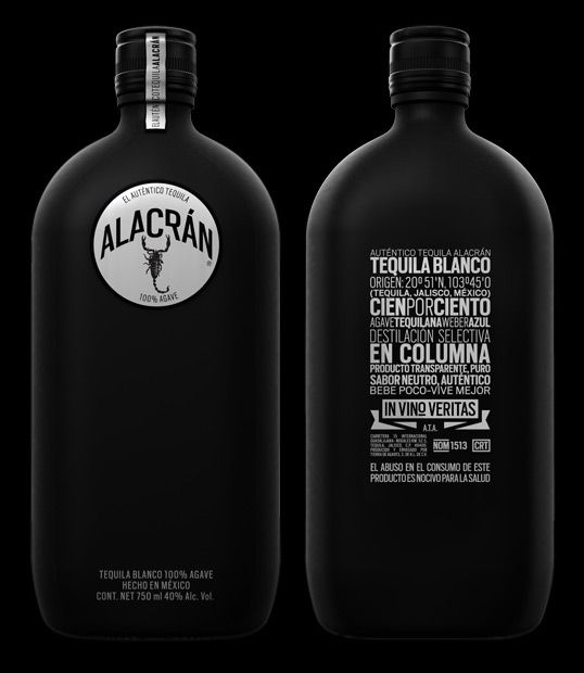 #drink: Package Design, Tequila Alacran, Alacrán Tequila, Packaging Design, Bottle Packaging, Bottle Design, Alacran Tequila, Tequila Alacrán