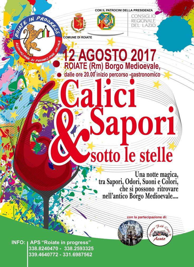 Calici & Sapori Sotto le Stelle 2017 (12 Agosto 2017)