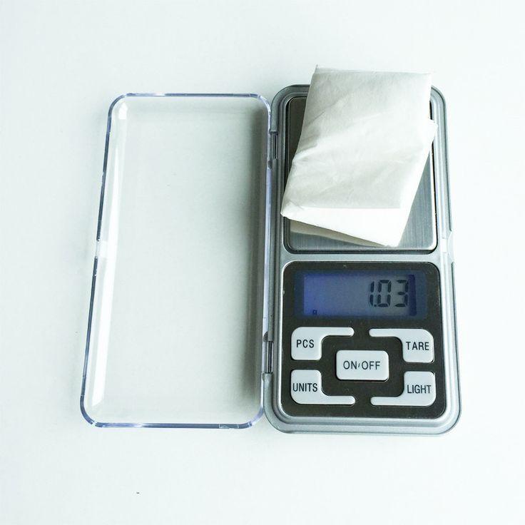 Kitchen Scales Mini Electronic Digital Jewelry Scale Balance Pocket Gram LCD Display Kitchen