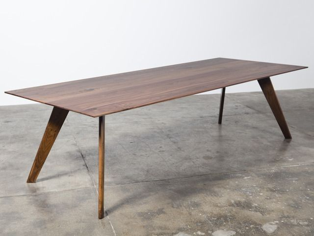 Vista St Dining Table by Nathan Day - Dining Table, Midcentury Modern, Solid Timber, Short Lead Time, Custom Furniture, Boardroom Table, Made To Order, Walnut
