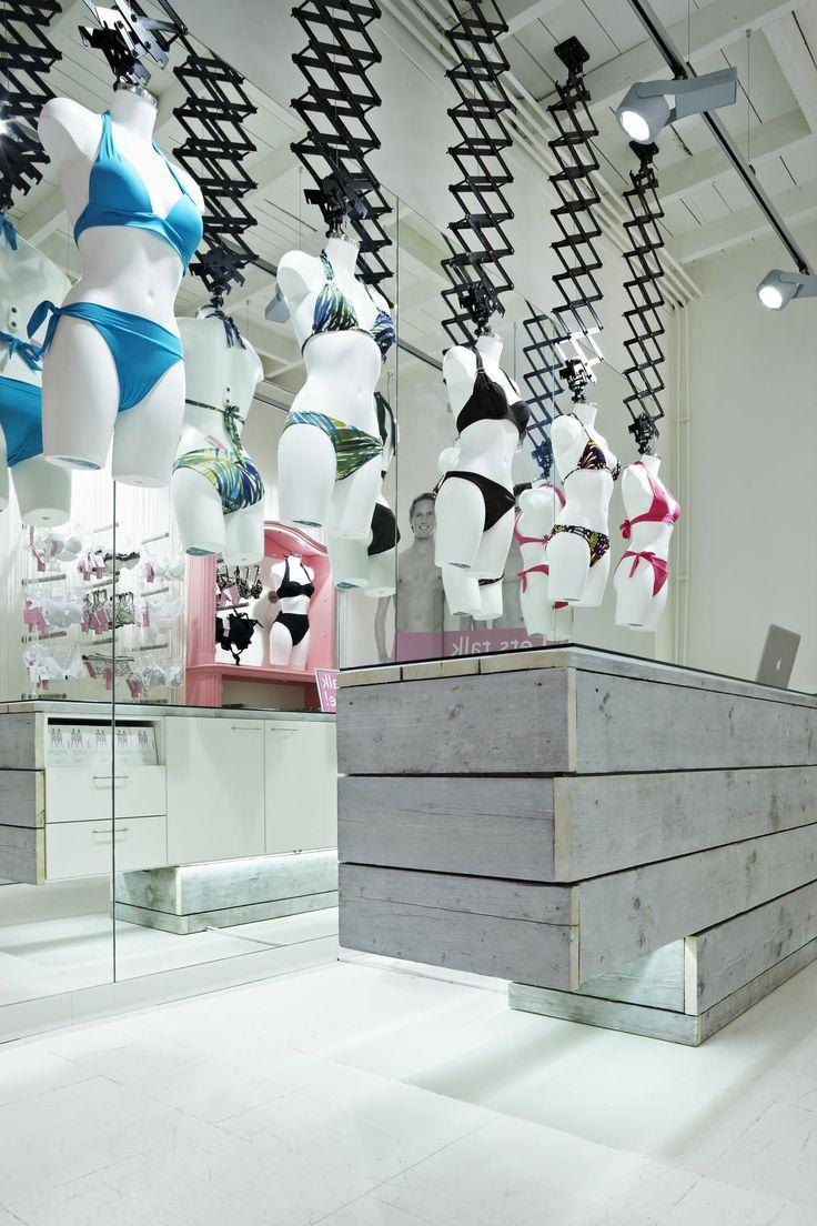 99 best Lingerie Store images on Pinterest | Visual merchandising ...