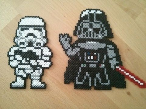 Star Wars hama beads by ashurek