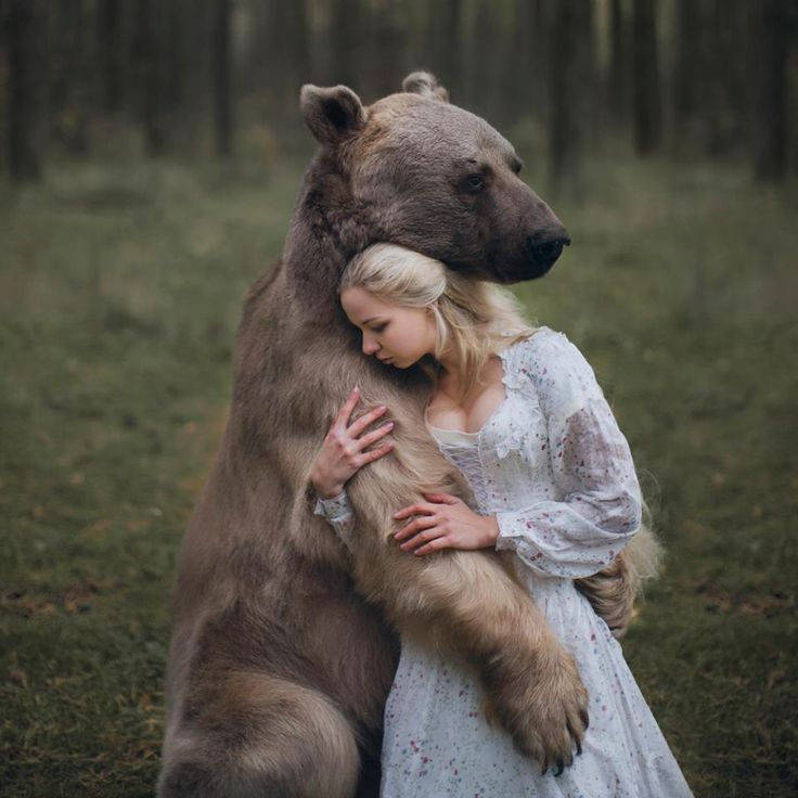 Best Katerina Plotnikova And Other Slavic Images On Pinterest - Russian photographer takes enchanting fairytale photos featuring wild animals