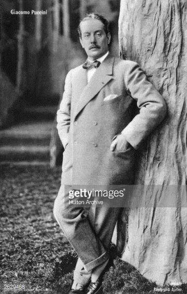 News Photo : Giacomo Puccini Italian operatic composer.