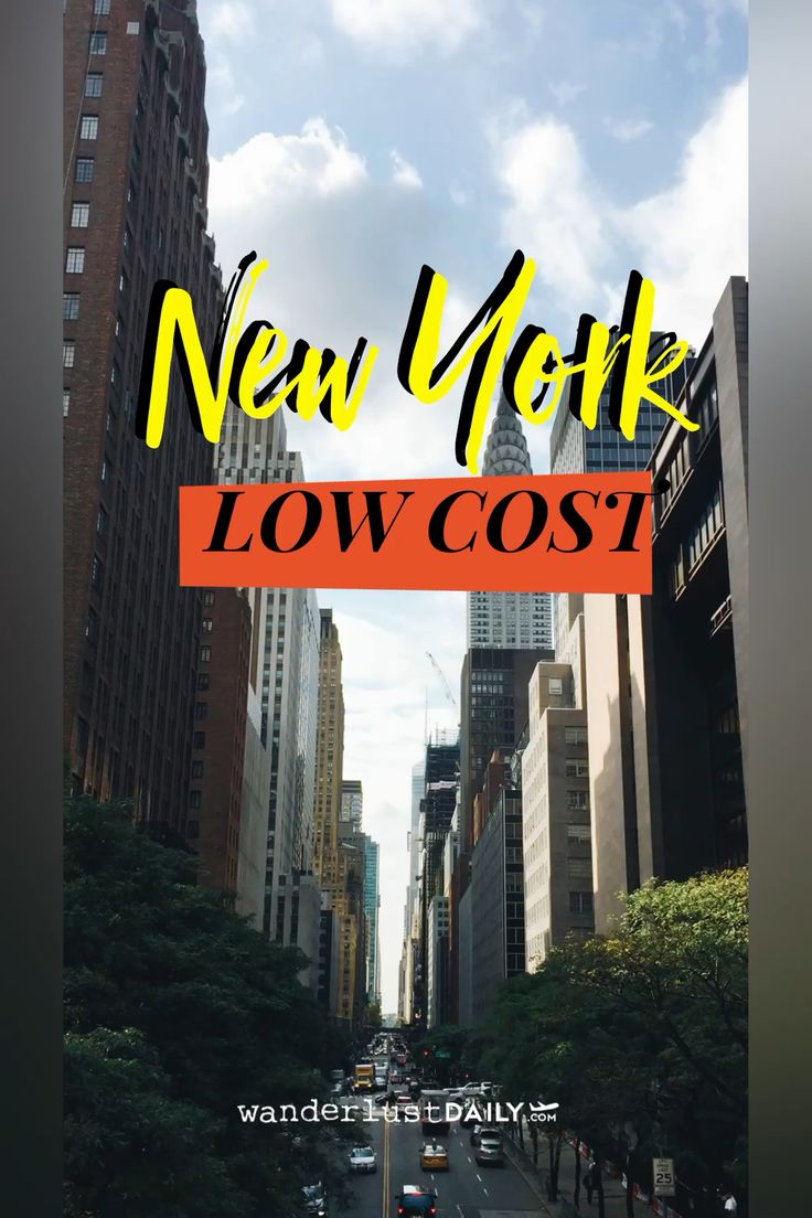 New York low cost (GUIDA)