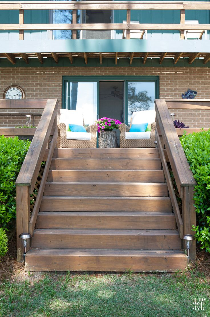 Outdoor Deck And Porch Decorating Ideas | In My Own Style