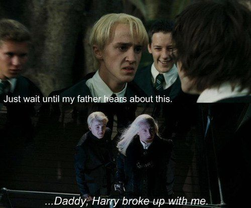 Drarry... don't know how to feel about this one