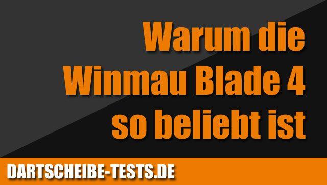 Warum die Steeldartscheibe Winmau Blade 4 so beliebt ist