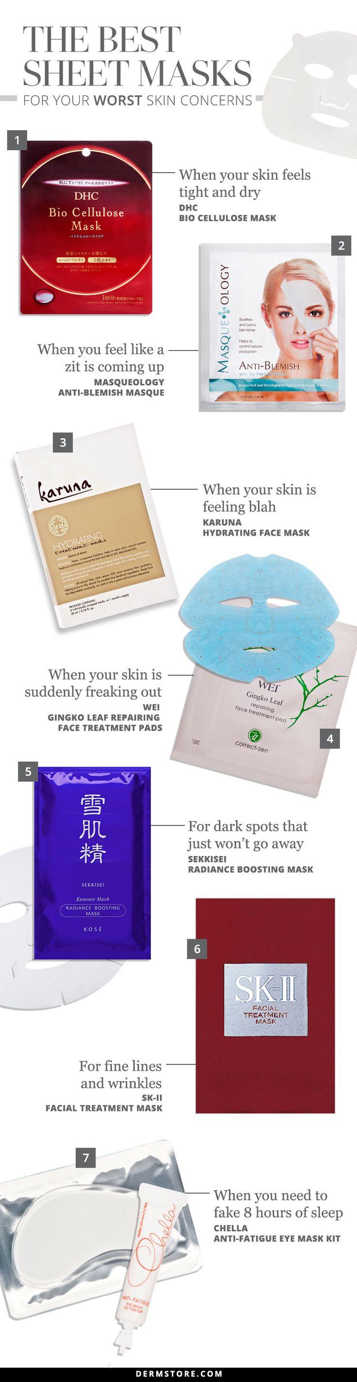 The Best Sheet Masks for Your Worst Skin Concerns