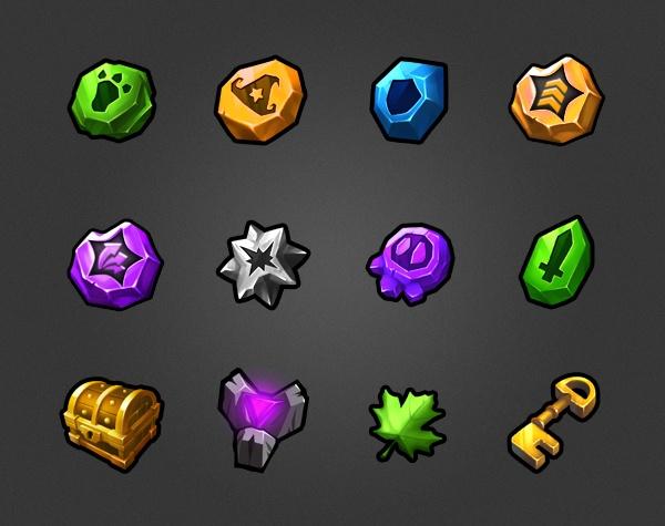 Haypi Dragon - icons