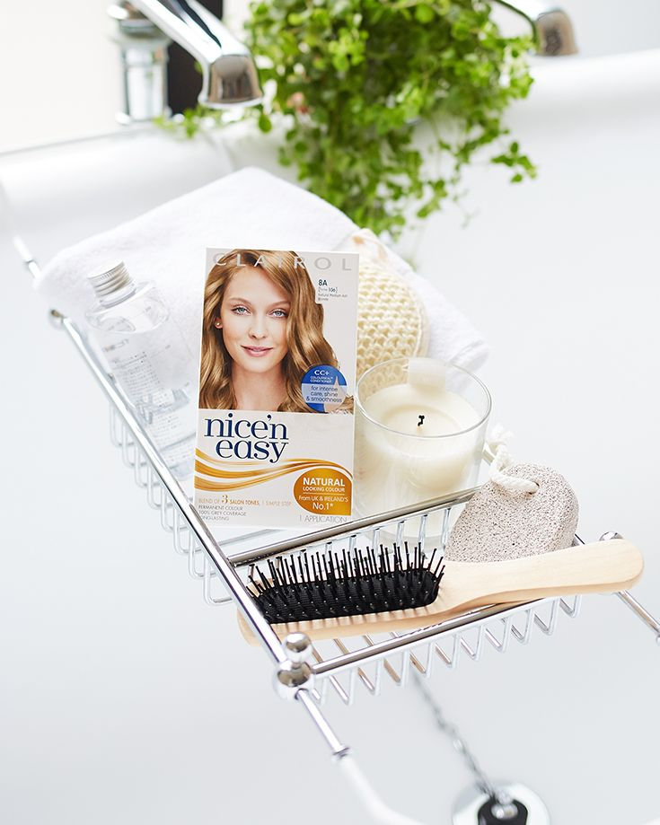 The ultimate trick when you're between salon appointments: Clairol Nice 'n Easy Root Touch Up conceals pesky greys and refreshes roots in 10 minutes. Apply to regrowth using the precision brush and rinse clean to reveal seamless coverage and consistent colour, so you can show your roots from any angle with confidence.