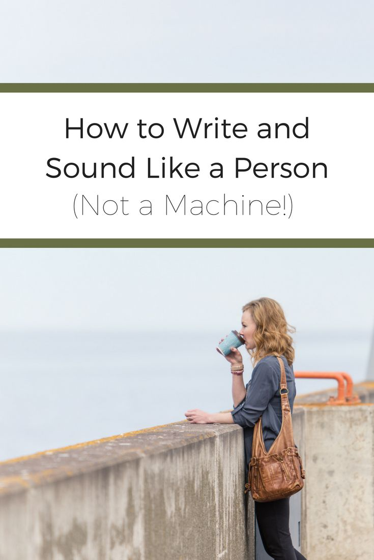 4 simple tips to sound more like YOU when you write! #copywriting #copywriter #bloggerlife #smallbusiness