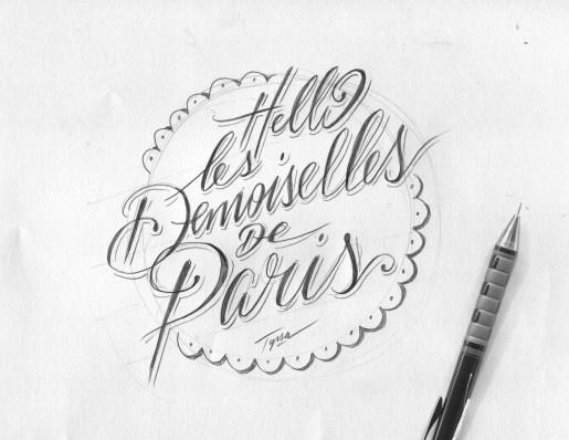 """""""Hello les Demoiselles de Paris"""" par TYRSA - Alexis Taieb"""