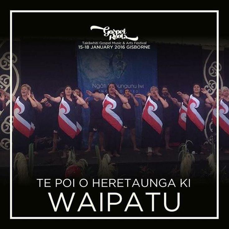 Gospel Roots Festival - Kapa Haka Lineup 2016 6th Announcement Tickets available now - http://bit.ly/1O3ZVGj ******* We are excited to announce Te Poi o Heretaunga ki Waipatu as part of the kapa haka lineup for 2016. Nau mai, haramai e koutou Ngā Poi nō Heretaunga haukū nui, Heretaunga ara rau, Heretaunga hāro o te Kāhu! #gospelroots