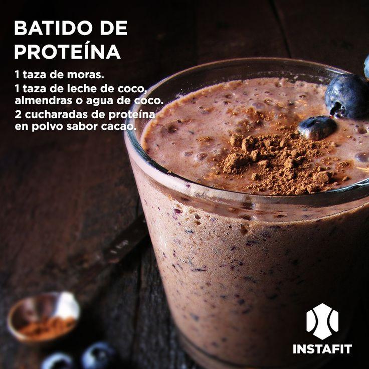Smoothie de proteína #receta