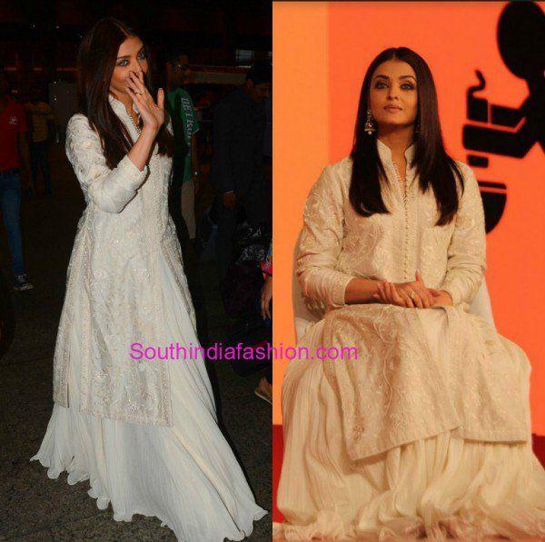 Aishwarya Rai Bachchan in Rohit Bal • South India Fashion